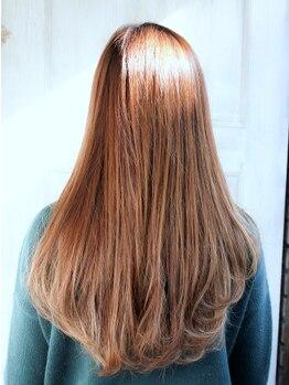 ヘア ヴィーヴル 田宮店(Hair BIVRE)の写真/一人ひとりのクセや状態に合わせてぴったりのメニューをご用意◎柔らかい質感でナチュラルなストレートに。