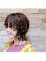 ヘアドレス レイ(Hair dress Lei)ウルフボブ