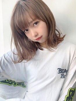 ランド(LAND)の写真/【駅チカ☆学割U24】自分らしく可愛くなれちゃう♪髪型に悩んでいる学生さん、LANDに大集合☆