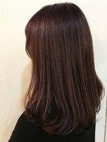 ヘアーアンドメイク ルシア 梅田茶屋町店(hair and make lucia)ベリーショコラカラー