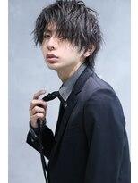リップス 渋谷(LIPPS)スーツに合うウェーブパーマ