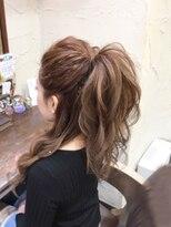 セットサロンエース(Set salon Ace)ハーフポニー☆