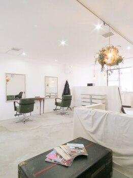 コルージャ(coruja)の写真/スタイリスト1名のマンツーマンサロン★周りの視線を気にせずあなただけの贅沢空間&サロンTimeを独り占め♪
