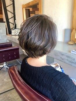 イヤイライケレの写真/アルカリ量の少ない、上質なカラー剤を使用しております◎髪を労りながら、自然な発色を叶えられる―♪