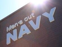 メンズカットネイビー(Men's cut NAVY)