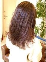 ヘアアンドメイクフリッシュ(HAIR&MAKE FRISCH)ピンクバイオレットグラデーション