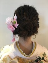 *着物 hair*