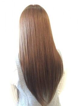 クロス(CROSS)の写真/【岡山市南区/松浜町】本当に私の髪?と見違えるほどの仕上がりに。ずっと触れていたくなるような美髪へ…