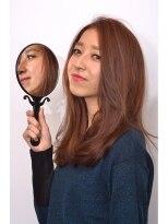 ヘアーラウンジ エゴ(Hair Lounge EGO)武蔵新城EGO 似合わせとろみワンカールのミディアムでモードに