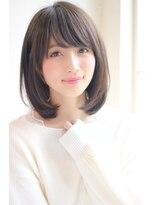 【GARDEN】ミディアム×ストレートスタイル(田塚裕志)