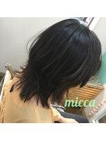 ミッカ(micca)ザクっとした束感が魅力のマッシュウルフ☆