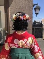 袴ヘアースタイル