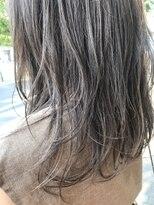 ヘアーディープ(hair deep)ハイライトたっぷり透けカラー