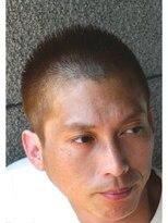 【STEP YOSHI】メンズクールショート 刈り上げソフトモヒカン