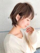 ノット(Knot)【knot阿部展大】イルミナカラー×横顔美人小顔丸みショート
