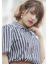 オリーブフォーヘアー(olive For hair)☆斜めバングショートボブ☆【olive for hair】03-6914-0898