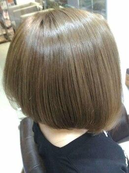 トリック(Trick)の写真/お手入れしにくい髪の毛も私たちのデザインカットにおまかせ☆ご自宅での再現性がしやすいのが嬉しい◎