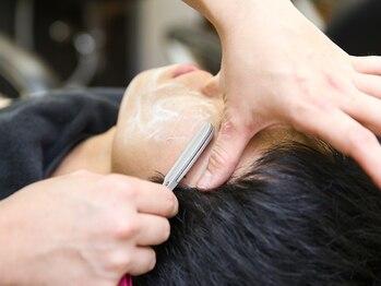 スマイルヘアー 大泉学園店(Smile hair)の写真/ひげや眉毛のお手入れ次第で変わる!ライフスタイルや希望に合わせより格好よく爽やかな印象に◎