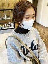 ヘアーアイスカルテット(HAIR ICI QUARTET)髪質改善トリートメント×ショート