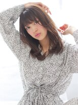 ヘアリゾート バレンタイン(hair+resort valentine)エアリーストレート×ベージュ【亀井】