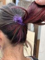 テトラ ヘアー(TETRA hair)mixインナーカラー