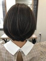 ヘアー チクタク(Hair Ciku-taku)ミントアッシュ×ボブ