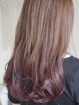 キキヘアメイク(kiki hair make)の写真/透明感×立体感でトレンドカラーを★外国人風Wカラーもお任せ!関東でキャリアを積んだスタイリストが担当♪