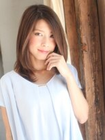 美容室パイナップル犬塚店THEミセス上品ストレート
