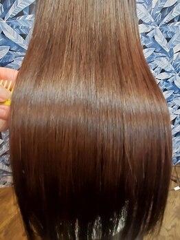 美髪 ラボヌビア(labo Nubia)の写真/【髪質改善専門店☆】Nubiaの縮毛矯正は普通じゃない!圧倒的リピート率がお客様の感動の証です。