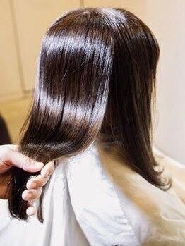隠れ家サロンアンティ(salon anty)の写真/おすすめの生トリートメント☆髪質に合わせてその場で調合♪スチームと超音波イオンで理想のツヤ髪へ!
