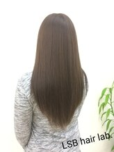 エルエスビー(LSB hair lab)【LSB】color アッシュグレージュ