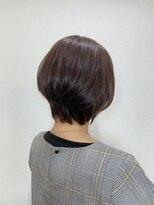 キャラ 池袋本店(CHARA)春髪ショートボブ!ツヤオレンジ【キャラ池袋/池袋東口】_