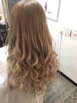 ヘアーグランデシーク(Hair Grande Seeek)王道ミルクティーcolor♪