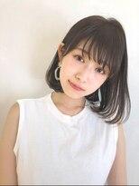 ガーデン アオヤマ(GARDEN aoyama)豊田 楓 大人かわいい 髪質改善 イルミナカラー ボブ 小顔