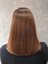 アマニ ヘアー ホスピタル(AMANI. HAIR HOSPITAL)【質感調整】乾かしただけでこの美髪(ハンドブロー仕上げ)