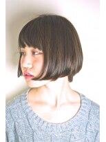 エトネ ヘアーサロン 仙台駅前(eTONe hair salon)【eTONe】魅せる前下がりボブ