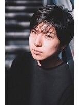 アイニコ(ainico)メンズのシースルーで夏らしいショートスタイル