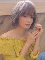 アグ ヘアー リノ 大名店(Agu hair reno)《Agu hair》ラフカールで大人カジュアル軽ショートボブ