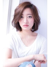 ヘアーアンドファッションシオミエイチ (hair&fashion shiomi H)【shiomi H】大人のかき上げボブ