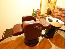 ボッコ(private salon Bocco)の雰囲気(フルフラットのシャンプー台。ゆったり寛げると評判です♪)