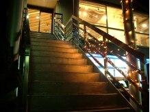 バズヘアー(BUZZ HAIR)の雰囲気(サロンへと続く階段。どんな雰囲気なのかワクワクしちゃう…☆)