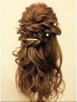 ヘアセットサロン アトリエ チャイ(Hair set salon atelier CHAI)アクセサリー付きヘアセット♪【+200円~】