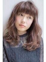 ロンド フィーユ(Lond fille)【Lond fille】重め前髪のニュアンスウェーブ☆