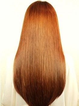 リコット 武庫之荘店(Ricott)の写真/潤い&ケア成分、Wで髪を労わる低ダメージ/ハイレベルのプレミア縮毛矯正♪仕上がりしっとり~モチの良さ◎
