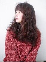 ヘアー ピープル(Hair People)オン眉小顔エレガンス◎くせ毛風無造作デジタルパーマ【開発店】