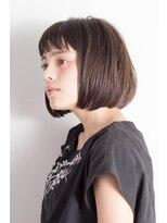 ミンクス 原宿店(MINX)【MINX近藤】厚めバングのワンレンクラシカルボブ