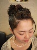 キーナ(Organic Hair KI-NA)上品アップスタイル