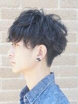 ザ サードヘアー 津田沼(THE 3rd HAIR)最高の横顔黒髪刈り上げマッシュ