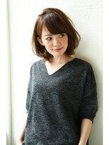 【Un ami】小顔ワンサイド・タンバルモリ ミディー 松井