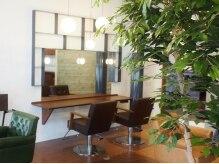 ビューティー ラボラトリー アソート(Beauty Laboratory ASSORT)の雰囲気(あたたかな日差しと、ぬくもりを感じる植物に囲まれて♪)